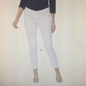 Tommy Bahama White Ana Twill Ankle Jeans 💗 12